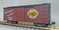 "WP&Y Box Car 109 ""Gateway to the Yukon"" (linke Seite/ left hand side)"