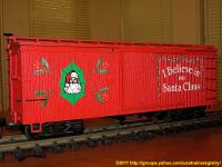 USA Trains Weihnachts-Güterwagen (Christmas box car) 1988