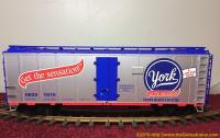 York Peppermint Pattie Kühlwagen (Reefer) HERX 1970