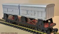 """Piggy-Back"" Wagen, unbeschriftet (Flat car, undecorated)"