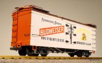 Budweiser Bierkühlwagen (Reefer) Version 4 grau/grey