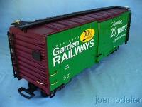 Garden Railways Güterwagen (Box car) - 20th Anniversary