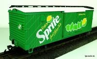 Sprite Werbewagen (Billboard box car)