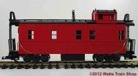 Stahl-Caboose, neutral (Steel caboose, undecorated)