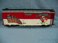 Campbell's Soup Box Car