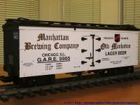 Manhatten Brewing Kühlwagen (Reefer) GARE 9905