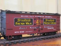 Brookside Fresh Milk Kühlwagen (Reefer) MTC 1832
