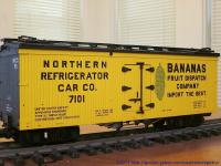 Bananas Kühlwagen (Reefer) NR Co. 7101