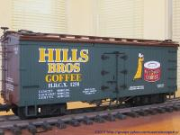 Hills Brothers Coffee Kühlwagen (Reefer) HBCX 1258