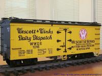 Wescott & Winks Dairy Dispatch Kühlwagen (Reefer) WWDX 1016