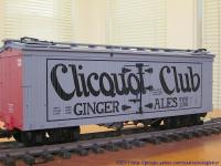 Clicquot Club Ginger Ale Kühlwagen (Reefer) NYDX 1508