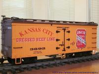 Kansas City Dressed Beef Line Kühlwagen (Reefer) 3892