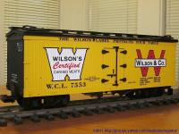 Wilson Canned Meats Kühlwagen (Reefer) WCL 7553