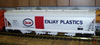 Enjay Plastics 55-ft center flow hopper 52795