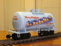 USA Trains Weihnachts-Kesselwagen (Christmas Tank car)