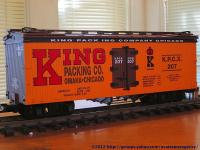 King Packing Co. Kühlwagen (Reefer) KPCX 207