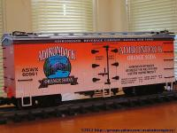 Adirondack Orange Soda Kühlwagen (Reefer) ASWX 60961