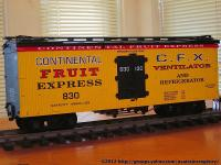 Continental Fruit Express Kühlwagen (Reefer) 830