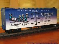 Clicquot Club Kühlwagen (Reefer) CCX 9482
