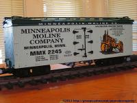 Minneapolis Moline Company Kühlwagen (Reefer) MMX 2245