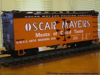 Oscar Mayers Packing Company Kühlwagen (Reefer) OMRX 6876