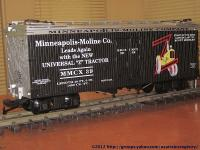 Minneapolis Moline Company Kühlwagen (Reefer) MMCX 39