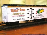 Hatchet Brand Sugar Corn Kühlwagen (Reefer) HBX 395