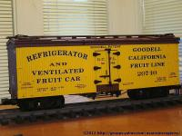 Goodell California Fruit Line Kühlwagen (Reefer) GCFL 20740