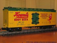 Howels Root Beer Kühlwagen (Reefer) HBX 308