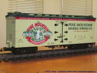 Pine Mountain Mineral Water Kühlwagen (Reefer)