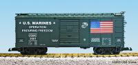 US Marines Güterwagen (Box car) USMC 2001
