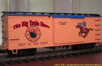 Big Train Show 1995 G¨¨terwagen (Box car)