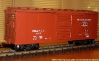 NMRA Heritage Series No. 2 - Sunset Valley Stahl Güterwagen (Steel box car) 202