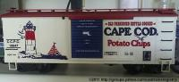 Cape Cod Potatoe Chips Box Car (mit/with LED) - 1994 LGB Convention