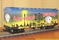 "Las Vegas ""Mega-train"" Kühlwagen (Reefer)"