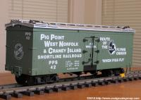 Pig Point & Craney Island Kühlwagen (Reefer) PPS 42