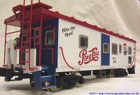 Pepsi Bay Window Caboose PCX1999