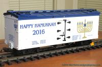 Happy Hanukkah Kühlwagen (Reefer) 2016