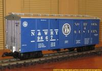 Norfolk & Western Güterwagen (Box car) 9867
