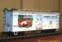 Cardwell Fruit Co. Canoe Brand Apples Kühlwagen (Reefer) CFX 8267