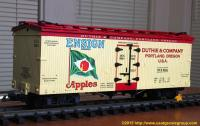 Ensign Apples - Duthie and Company Kühlwagen (Reefer) DCX 9254