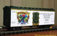 Nevada City Brewing Company Kühlwagen (Reefer) NCBX 7001