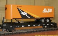 TrailerTrain Flachwagen mit Sattelanhänger (Flat car with trailer) 478502 Allied Movers