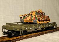US Army Flachwagen - King Tiger Panzer (Flat Car with King Tiger Tanks) 5051