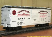 Klasing Car Brake Company Güterwagen (Box car) KCBX 465