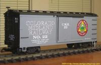 Colorado Midland Güterwagen (Box car) 22