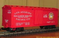 Los Angeles Pacific Co. Güterwagen (Box car) 408