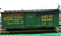 N.K. Fairbanks & Co. gedeckter Güterwagen (Boxcar) URT Co 20055