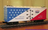 USA Trains 6. Jubiläums-Wagen (Anniversary reefer)