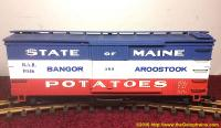 "Bangor and Aroostook ""State of Maine Potatoes"" gedeckter Güterwagen (Boxcar) 8046"